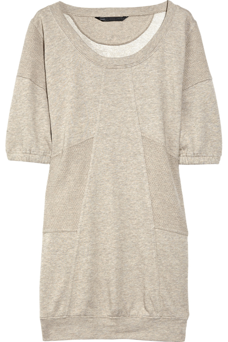 Marc by marc jacobs Liz Cotton Sweater Dress in Natural | Lyst