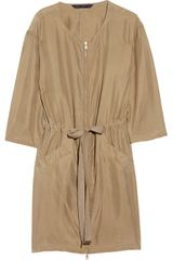 Marc By Marc Jacobs Sandy Washed-silk Dress - Lyst