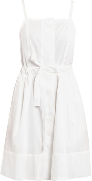 Marc Jacobs Cotton Dress - Lyst