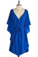 ModCloth Blue and Me Forever Dress - Lyst
