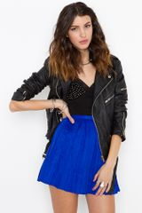 Nasty Gal Pretty Pleats Skirt - Lyst