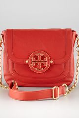 Tory Burch Amanda Crossbody Messenger, Orange - Lyst