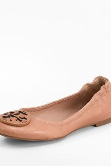 Tory Burch Leather Reva Ballet Flat - Lyst