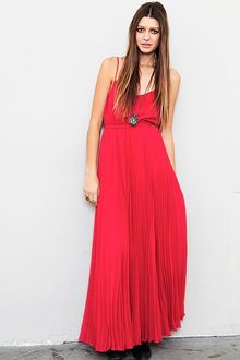 Twelfth Street by Cynthia Vincent Pleated Maxi Dress - Lyst