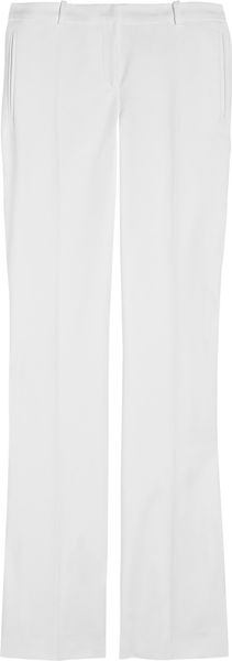 Versace Stretch-cotton Straight-leg Pants - Lyst
