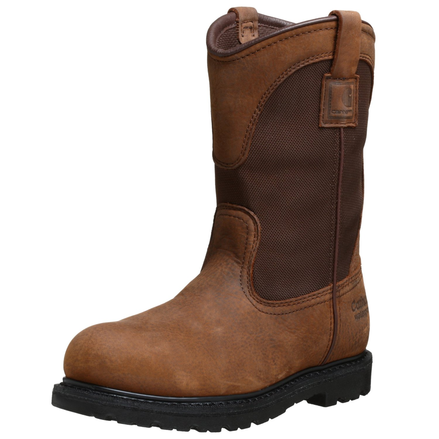 carhartt mens waterproof pull on boot in brown for lyst