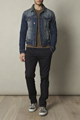 Dolce & Gabbana Denim Jacket in Blue for Men - Lyst
