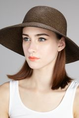 Eric Javits Squishee Iv Hat, Medium - Lyst
