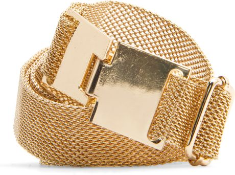 Mango Adjustable Belt in Gold (94)