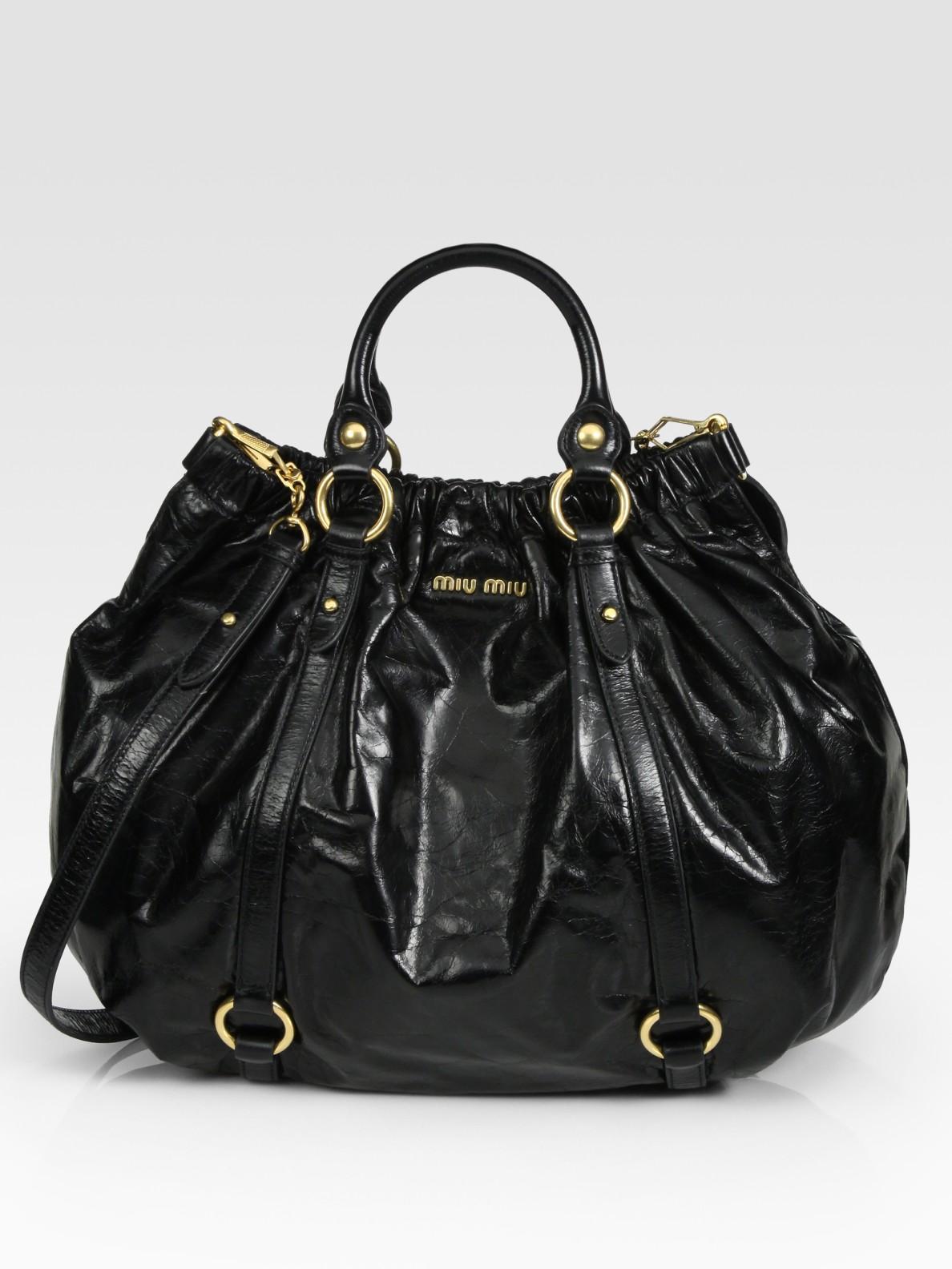 Miu Miu Vitello Lux Black magicalrooms.co.uk fc2a5760c3
