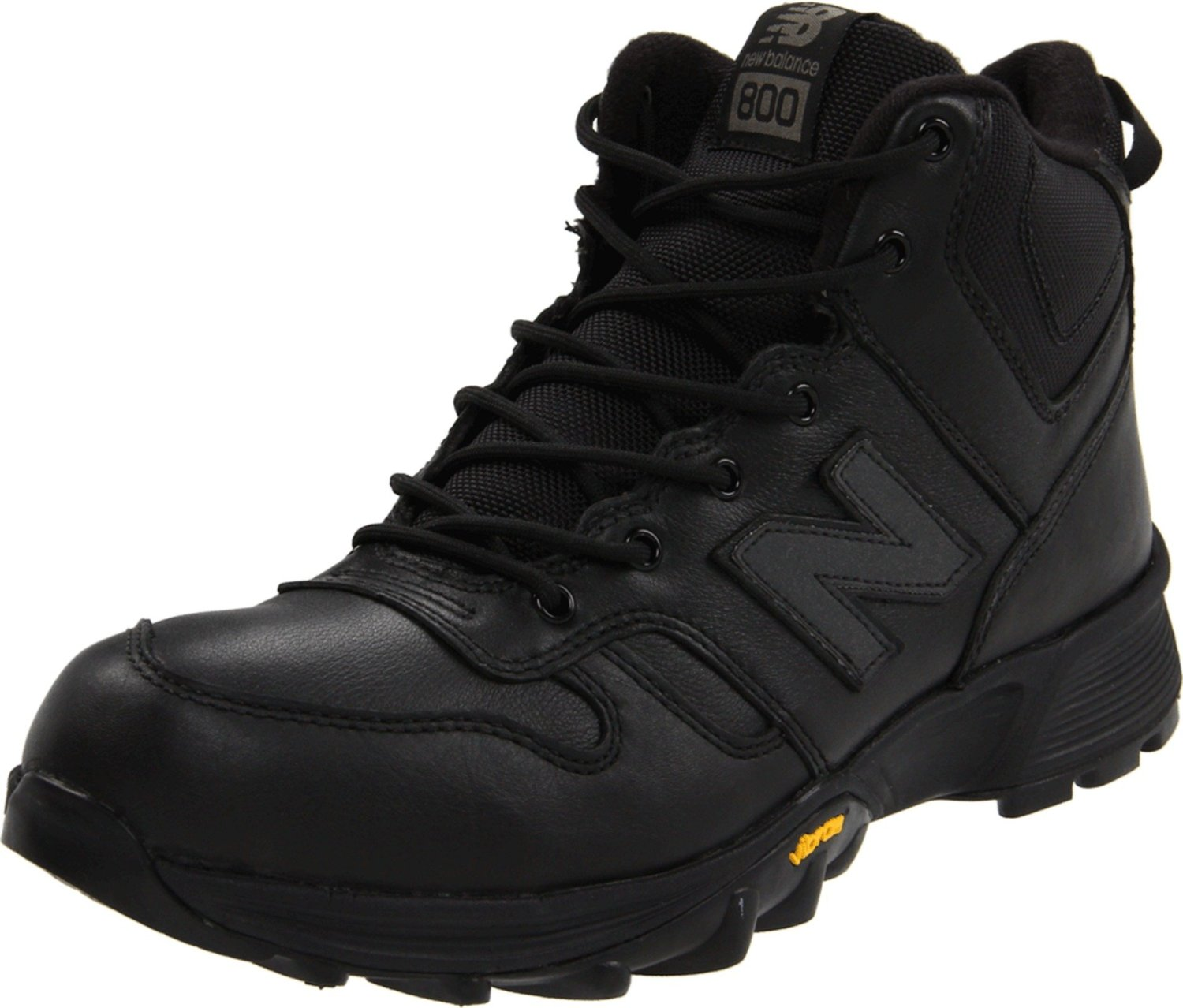 new balance mens h800 hiking boot in black for lyst