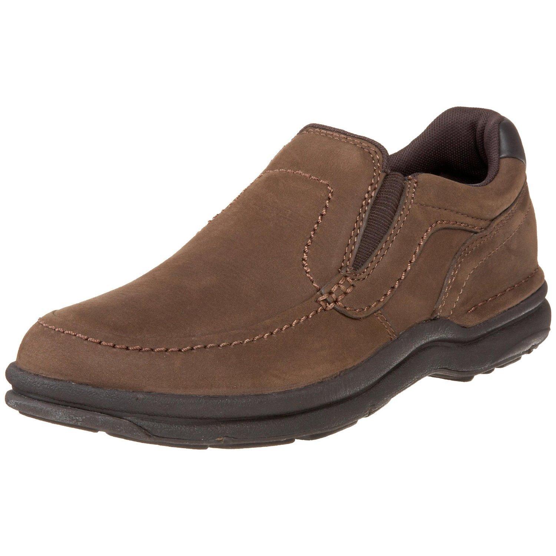 Rockport Mens Calaska Slip On Walking Shoe in Brown for Men (chocolate