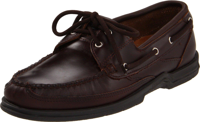sebago sebago mens schoodic shoe in brown for burnt