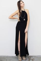Stone_cold_fox Onyx Gown - Lyst