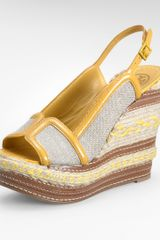 Tory Burch Breacher High Wedge - Lyst