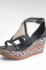 Tory Burch Breacher Mid Wedge - Lyst