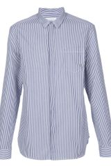 Pierre Balmain Striped Shirt - Lyst