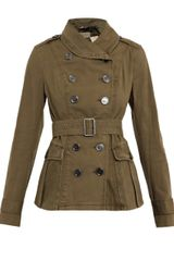 Burberry Brit Baker Cotton Canvas Jacket - Lyst