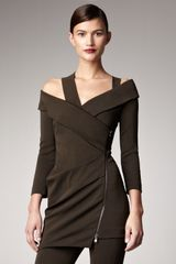 Donna Karan New York Cold-shoulder Jacket - Lyst
