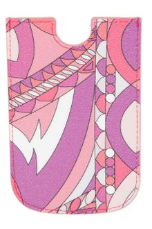 Emilio Pucci Printed Iphone Case - Lyst