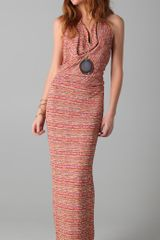 Haute Hippie Scarface Halter Dress - Lyst