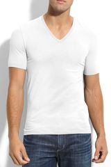 Hugo Dredoso Extra Trim Fit V-neck T-shirt - Lyst
