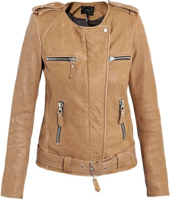Isabel Marant Sade Leather Jacket - Lyst