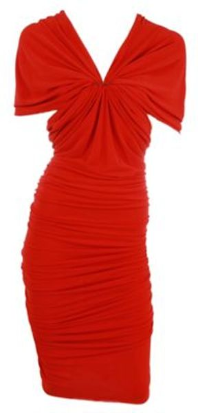 Lanvin Dress in Red - Lyst