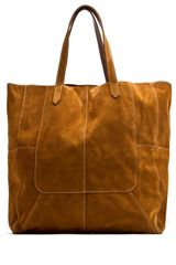 Mango Touch Leather Shopper Bag - Lyst