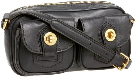 Marc By Marc Jacobs House Of Marc Ava Cross Body in Black - Lyst