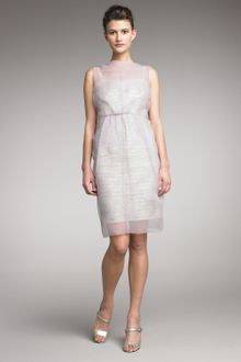 Marc Jacobs Spring 2012 Sheer Overlay Dress - Lyst