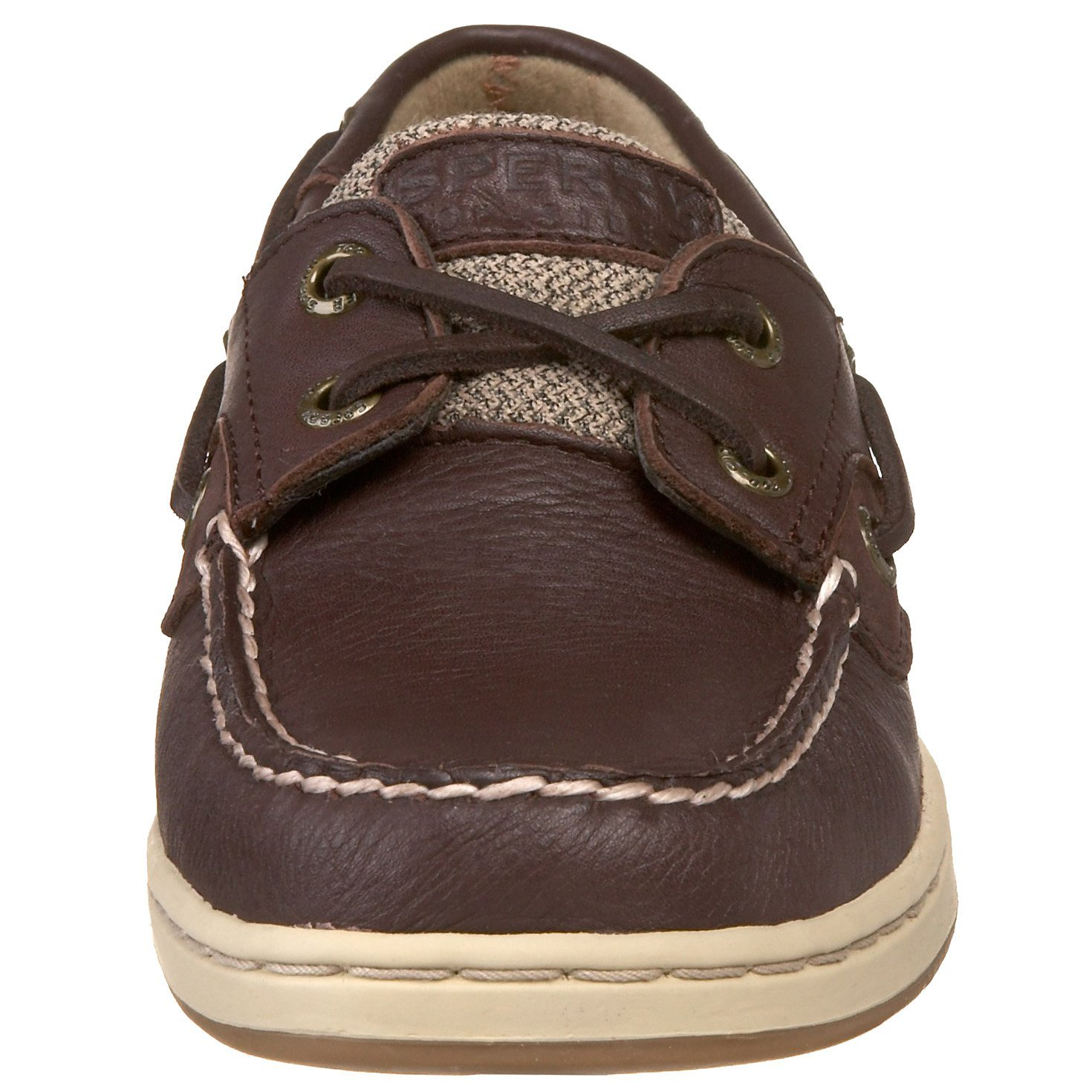 Womens Sperry Top Sider Bluefish Boat Shoe Brown Tan