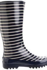 Sperry Top-sider Womens Pelican Mid Calf Boot in Blue (navy stripe) - Lyst