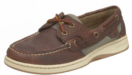 Sperry Top-sider Sperry Topsider Womens Bluefish 2eye Boat Shoe in Brown (tan) - Lyst