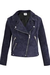 Acne Rita Leather Jacket - Lyst