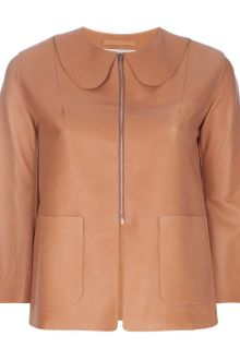Acne Ryah Leather Jacket - Lyst
