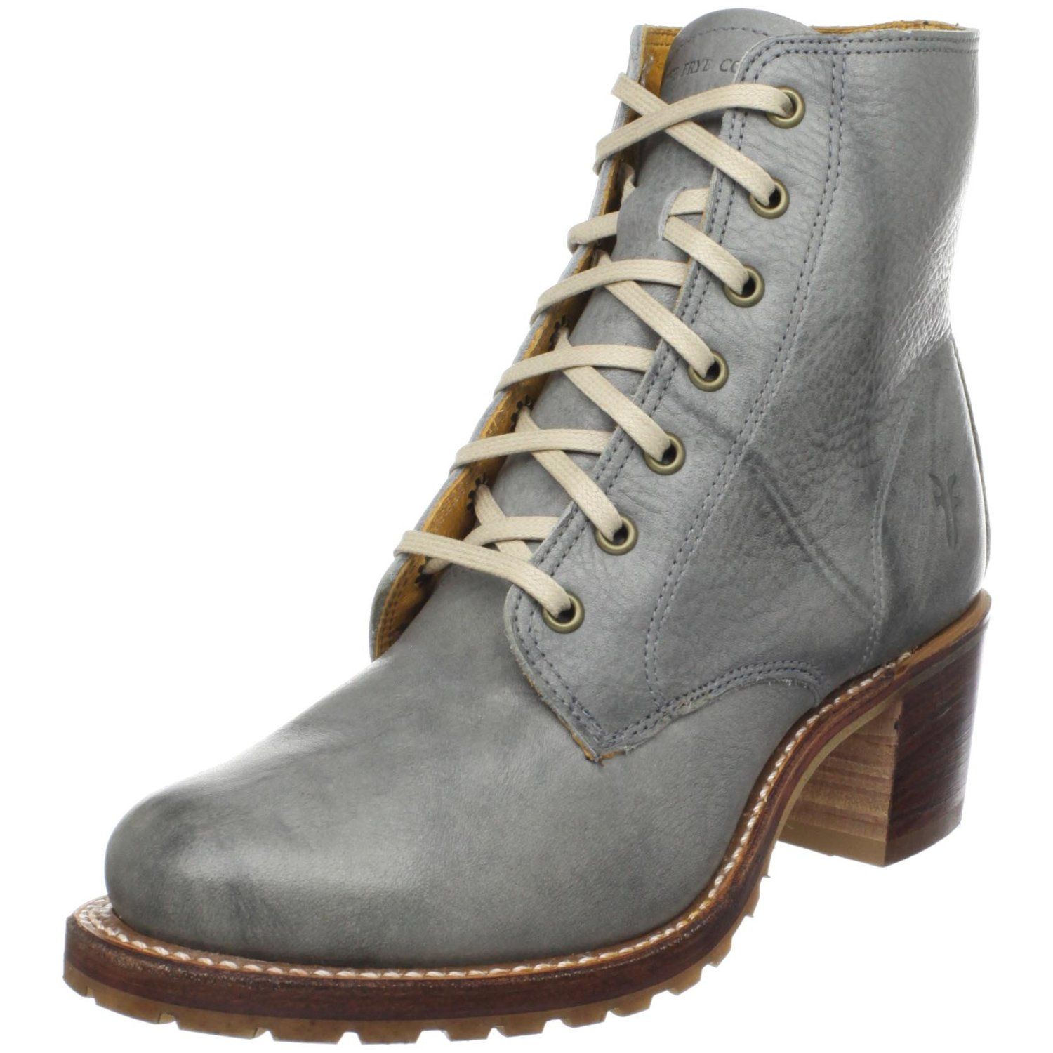 Wonderful Frye Womens Carson Lug Lace Up Boots  Shoesusblog