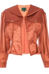 Jean Paul Gaultier Fitted Jacket - Lyst