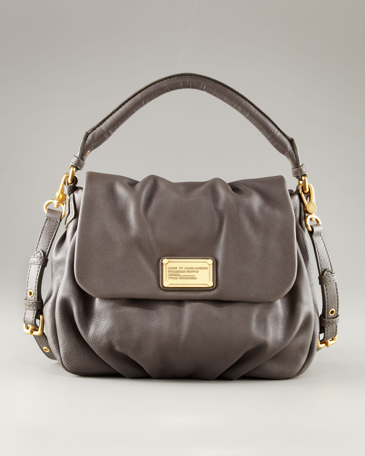 Marc By Marc Jacobs Classic Q Lil Ukita Bag In Gray Lyst