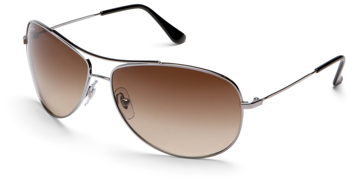 Ray Ban Silver Frame Glasses : Ray-ban Ray-ban Bubble Wrap Aviator Sunglasses in Gold for ...