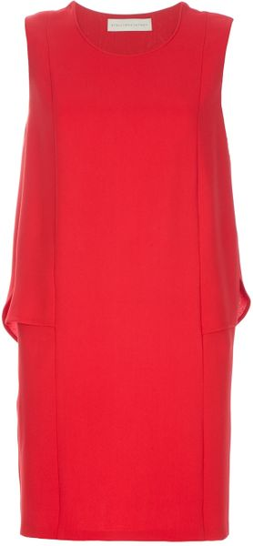 Stella Mccartney Diane Dress in Red - Lyst