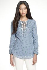 Tory Burch Angela Tunic - Lyst