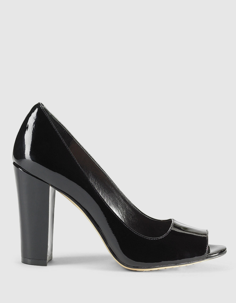 Vince Camuto Riston Patent Leather Pumps In Black Lyst