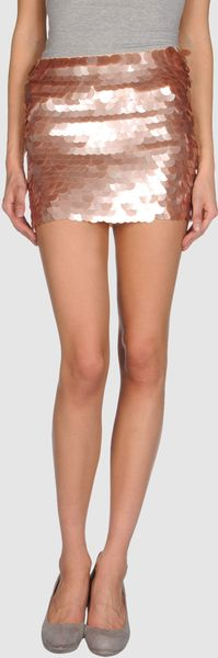 Alice + Olivia Mini Skirt - Lyst