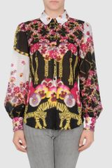 Class Roberto Cavalli Long Sleeve Shirts - Lyst