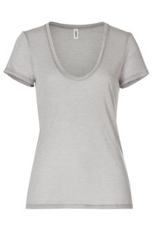 L'Agence Short sleeve t-shirt - Lyst