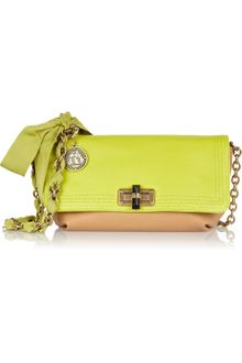 Lanvin Happicolo Leather Shoulder Bag - Lyst