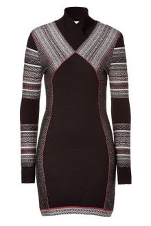 Matthew Williamson  Paneled Knit Dress - Lyst