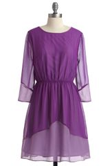 Modcloth The Grape Getaway Dress in Purple (grape) - Lyst