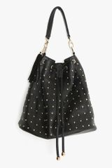 Nasty Gal Total Stud Bucket Bag - Lyst